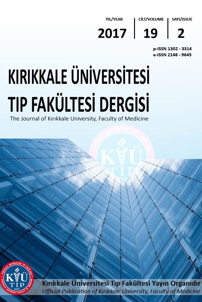 Kırıkkale Üniversitesi Tıp Fakültesi Dergisi